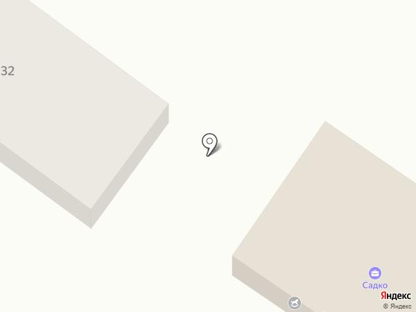 Садко на карте Уссурийска