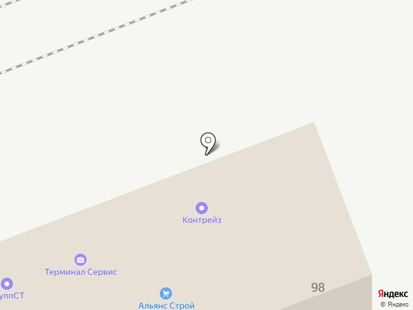 Терминал Сервис на карте Владивостока