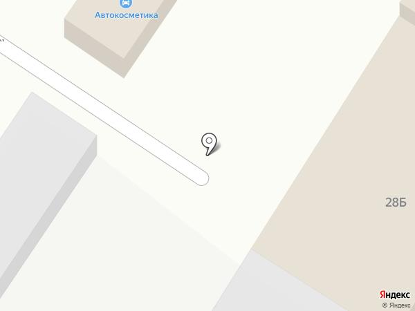 Комплекс на карте Уссурийска