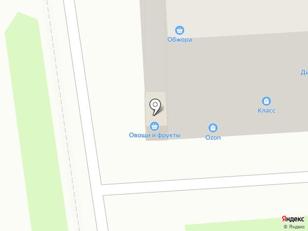 Тигруля на карте Уссурийска