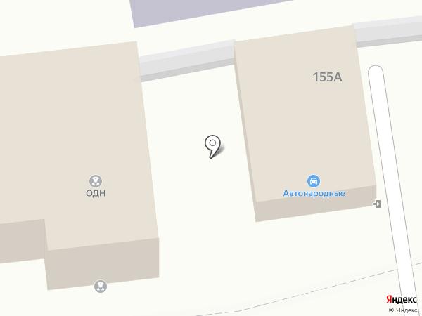 Автонародный на карте Уссурийска