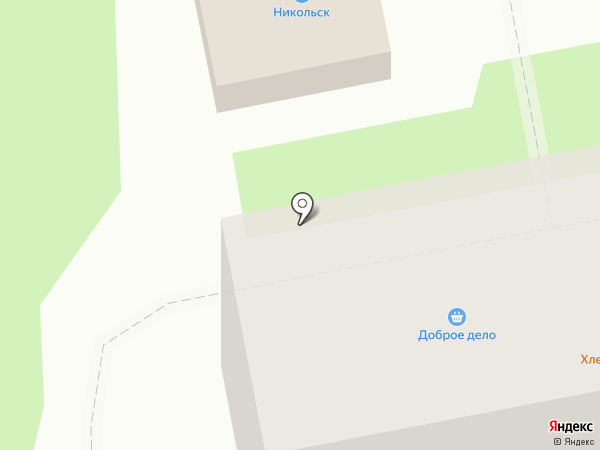 Родстор, ЗАО на карте Уссурийска