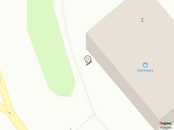 Катенька на карте Уссурийска