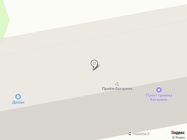 Дилан на карте Уссурийска