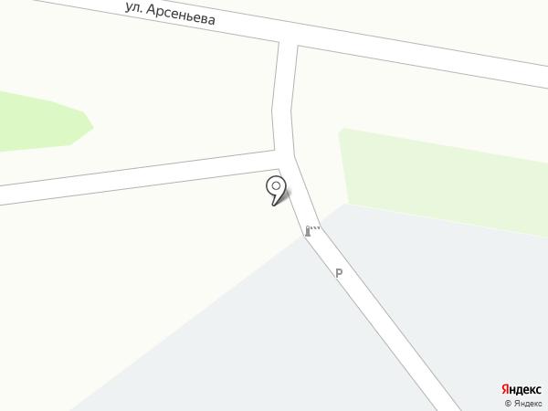 Базальт на карте Уссурийска