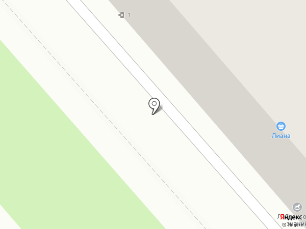 Лиана на карте Уссурийска