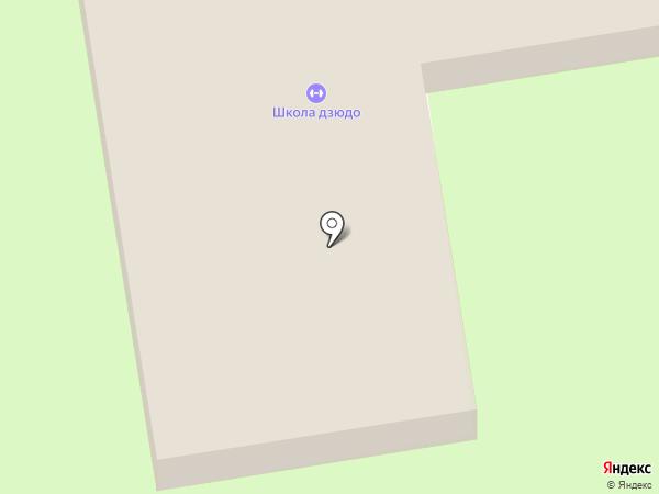 Дзюдо на карте Уссурийска