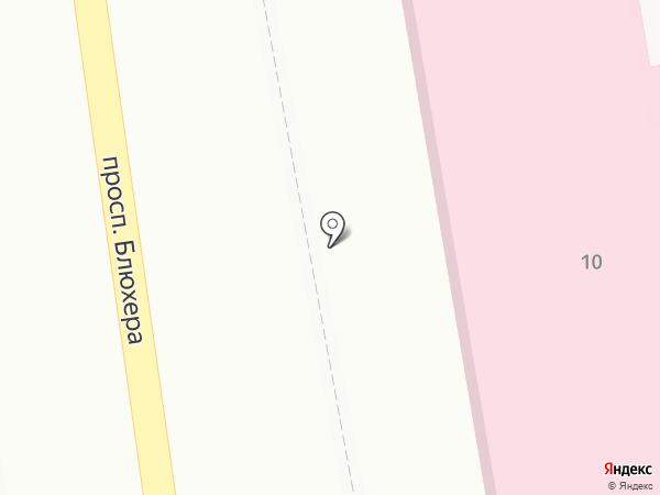 Адвокатская контора №35 на карте Уссурийска