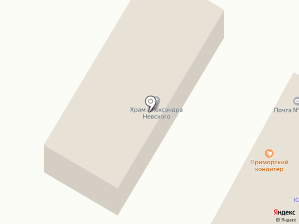 Александровский храм на карте Вольно-Надеждинского