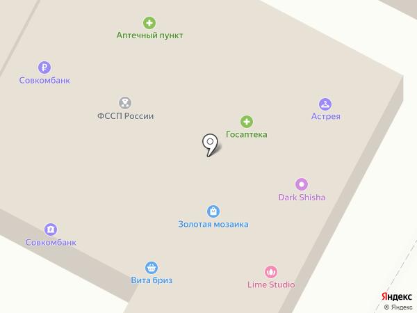 Поли Дент на карте Вольно-Надеждинского