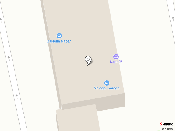 CARS25 на карте Уссурийска