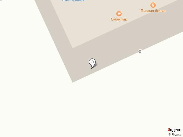 Смайлик на карте Михайловки