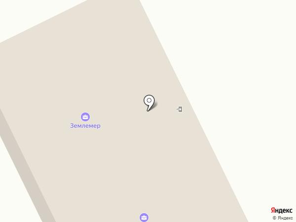 Землемер на карте Михайловки