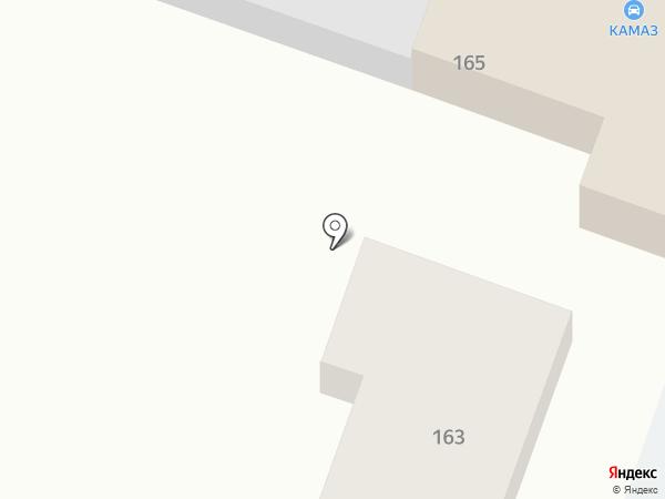 Камаз на карте Михайловки