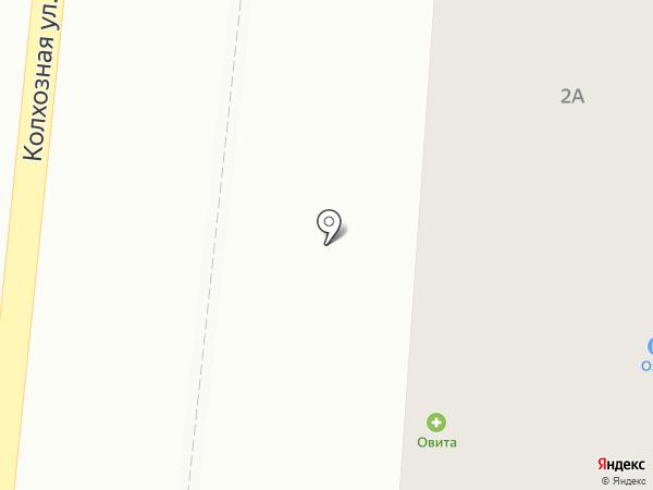 Макс на карте Михайловки