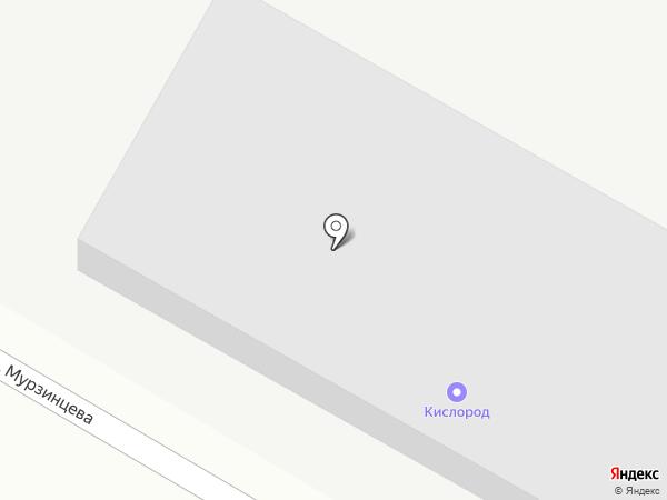 Кислород на карте Уссурийска