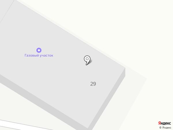 Газовый участок на карте Нового