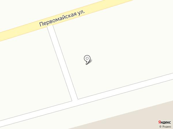 Берёзка на карте Нового
