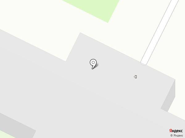 Уссурийский картонный комбинат на карте Уссурийска