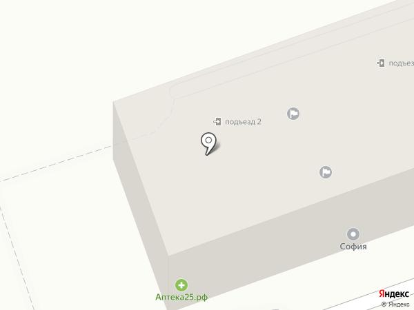 Автомагазин на карте Артёма