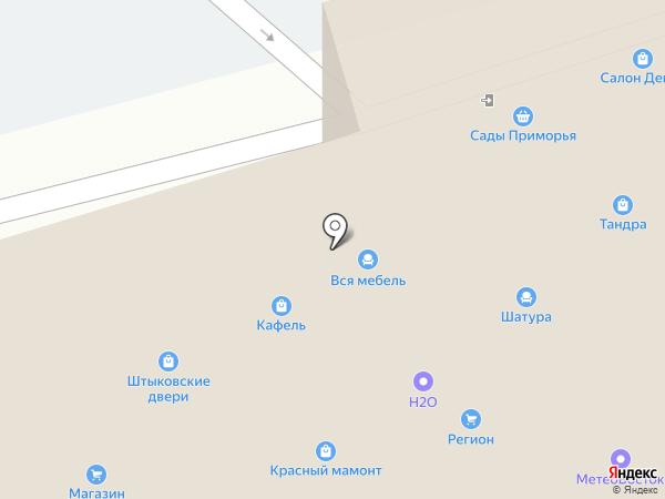 Ростра на карте Артёма
