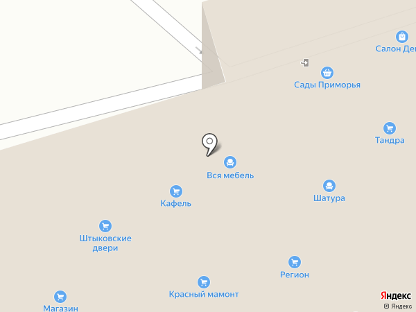Юникорн на карте Артёма