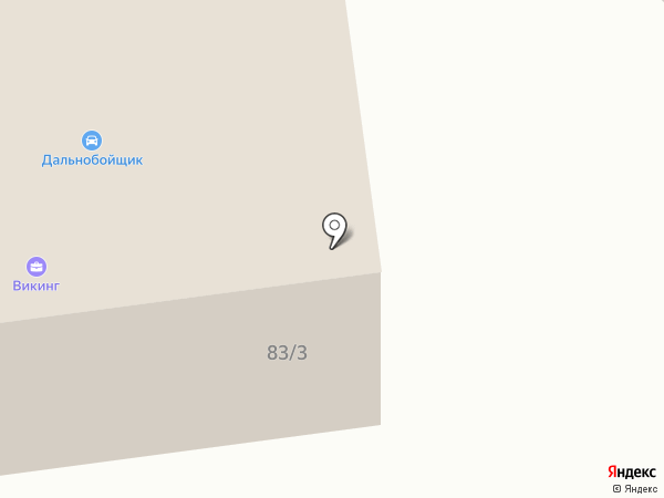 Викинг на карте Артёма