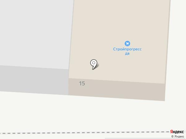 Окна КФК на карте Артёма