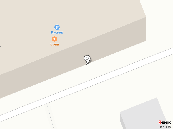 Каскад на карте Артёма