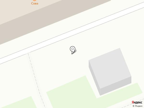 Сова на карте Артёма