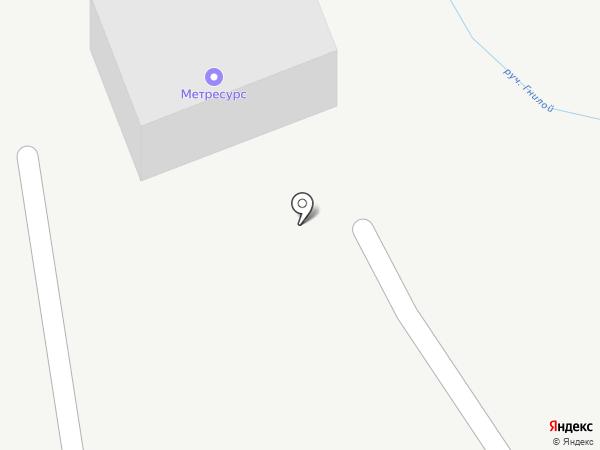 Метресурс на карте Артёма