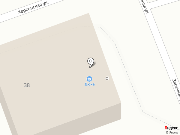 Дюна на карте Артёма