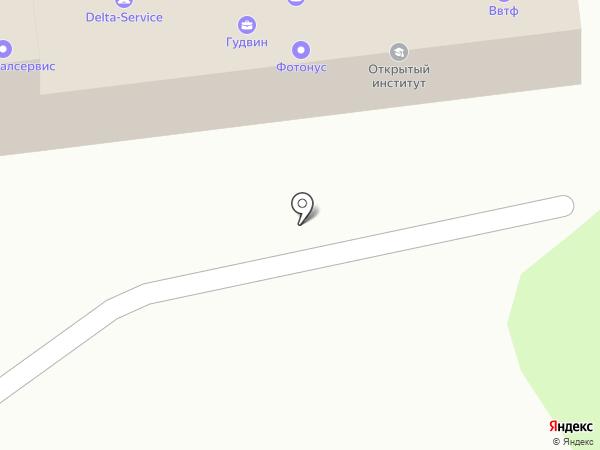 Отражение на карте Артёма