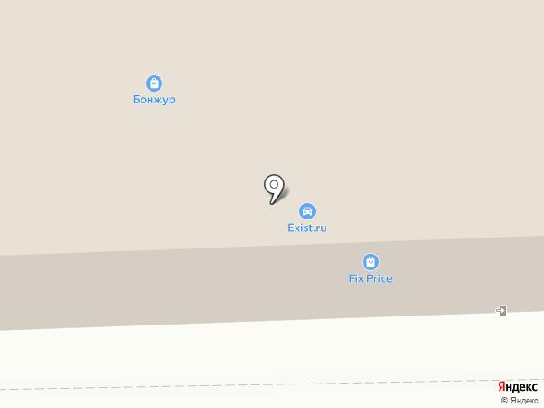 Штыковские Двери на карте Артёма