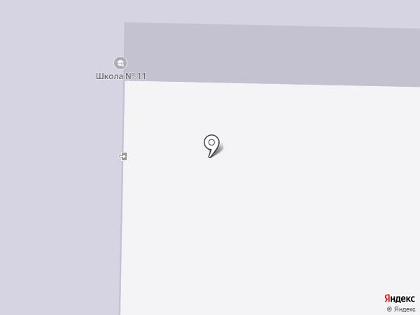 Средняя общеобразовательная школа №11 на карте Артёма