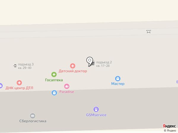 Тапир-фото на карте Артёма