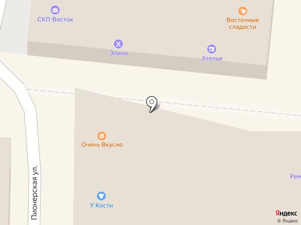 У Кости на карте Артёма