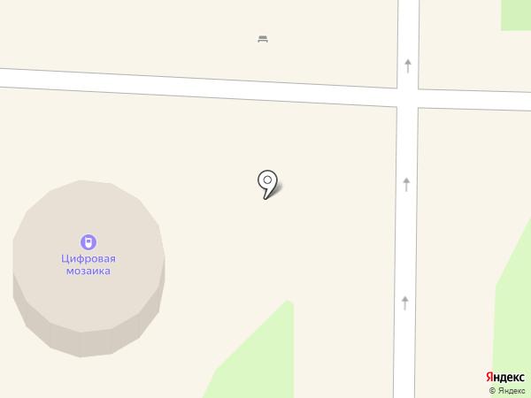 Цифровая мозаика на карте Артёма