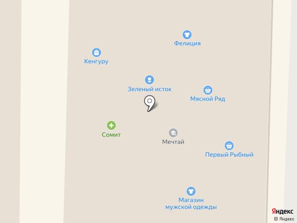 Сомит на карте Артёма