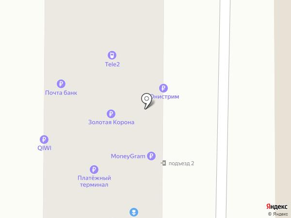 Мосигра на карте Артёма