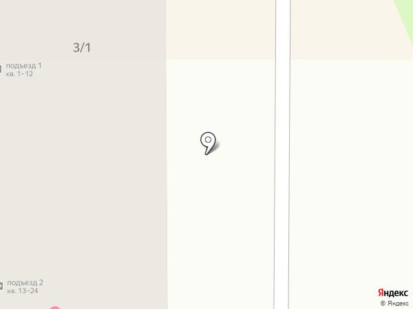 Жилой комплекс на карте Артёма