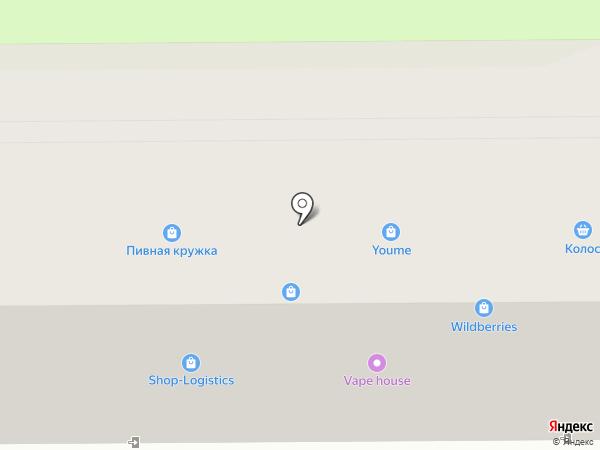 Пивная кружка на карте Артёма