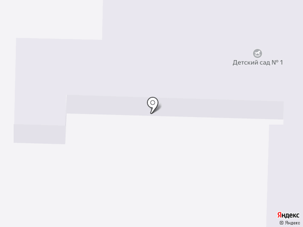 Детский сад №1 на карте Артёма