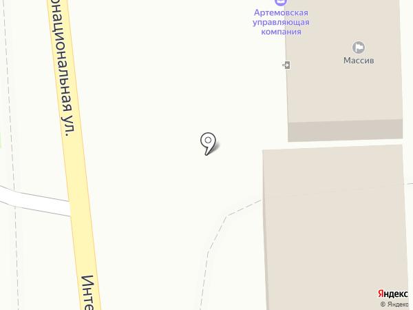 ЖЭК №5 на карте Артёма