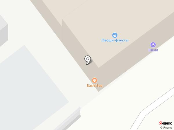 Андон на карте Артёма