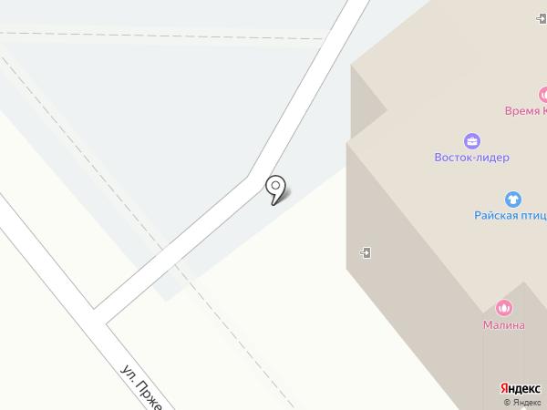 Магазин мясной продукции на карте Артёма