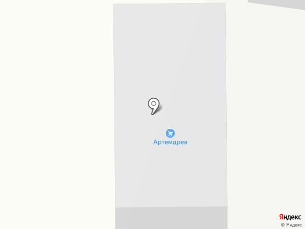 Эстет-мебель на карте Артёма