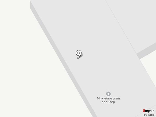 Михайловский бройлер на карте Артёма