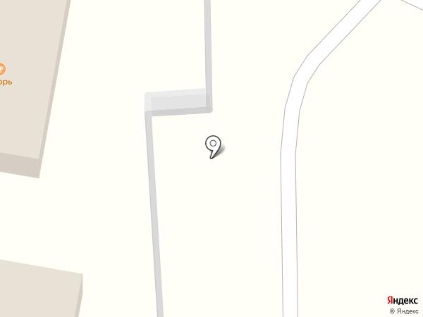 Якорь на карте Находки