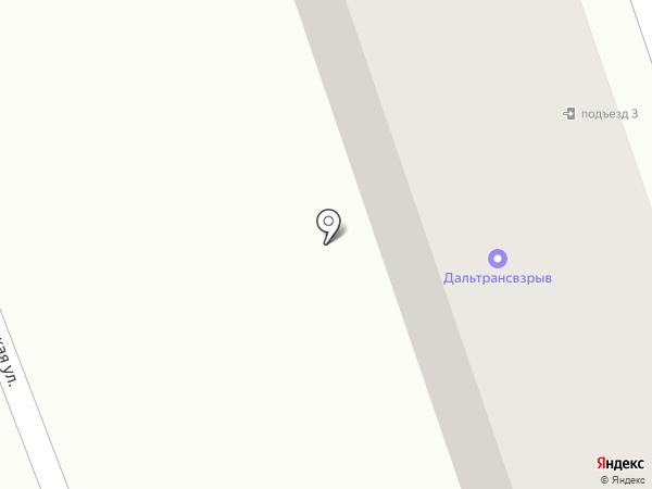 Дальтрансвзрыв, ЗАО на карте Находки